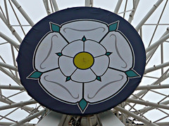 Rose (PeterEdin) Tags: york england wheel rose metal lumix steel yorkshire spokes views vista gondola rim northyorkshire norwichunion cityofyork panasoniclumix yorkshirewheel dmctz3 tz3 panasonictz3 panasonicdmctz3 worldtouristattractionsltd yorkshireandhumbershire