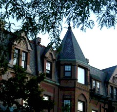 Evening on Newbury Street (Posterized) (randubnick) Tags: art boston ma photography massachusetts newburystreet photograph backbay