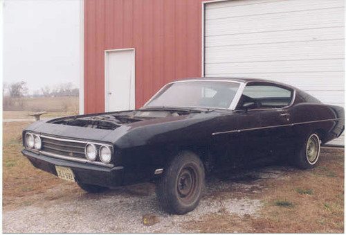 1969 Ford Talladega project car for sale
