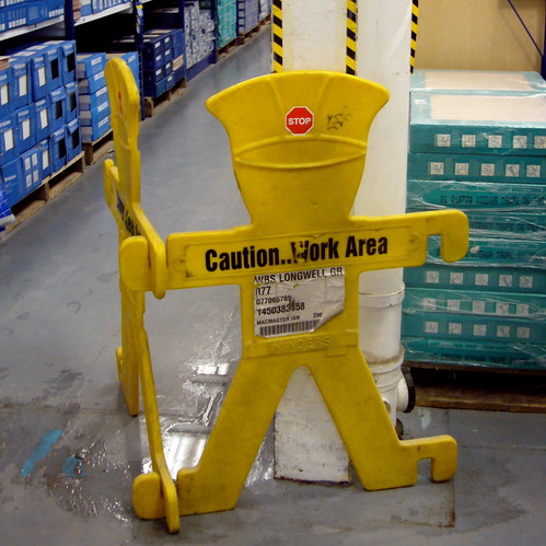 Caution - Work Area!