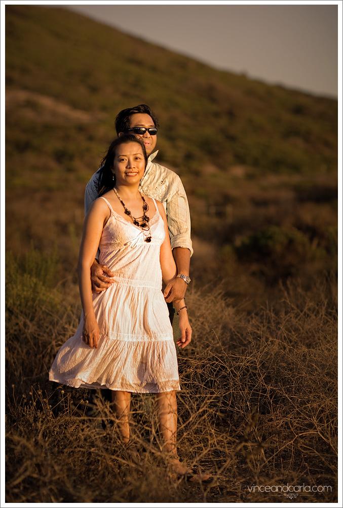 bush portrait malibu wedding point dume california engagement e session shoot