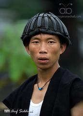 Head Gear of a Warrior 07 (Arif Siddiqui) Tags: people india nature portraits hills tribes warriors northeast arunachal siang tribals arunachalpradesh 5photosaday northeastindia headgears yingkiong aalo pasighat arunachalpradeshindia arunachali