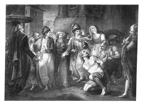 03- La comedia de las equivocaciones-Act V Esc I- En la calle delante de un priorato- Joh Francis Rigaud