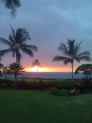 Last Hawaii sunset