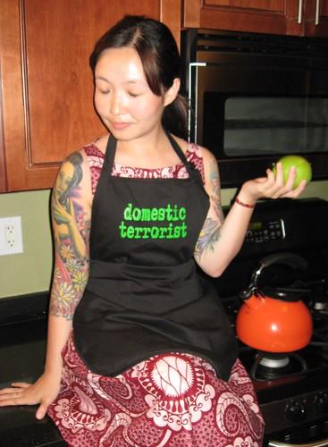 Domestic Terrorist Apron