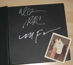 Signed by the authors, complete with an original photo. (09/18/2008)