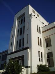 (Former) Pyrene Building (stevecadman) Tags: 1920s london architecture factory artdeco c20 20thcentury brentford 20s greatwestroad twentiethcentury wallisgilbert c20society 27thseptember2008brentfordwalk interwarera