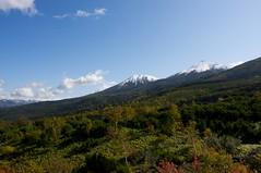 オプタテシケ山、美瑛富士、美瑛岳
