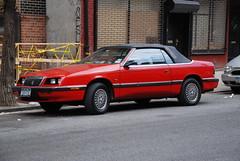 Chrysler LeBaron Convertable (Triborough) Tags: nyc newyorkcity ny newyork car manhattan westvillage chrysler greenwichvillage convertable lebaron newyorkcounty