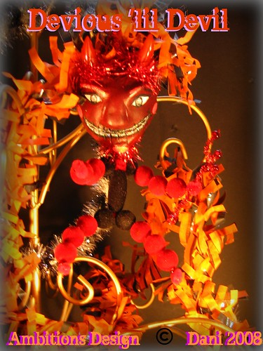 Monster Squad Ornies - Devious 'lil devil