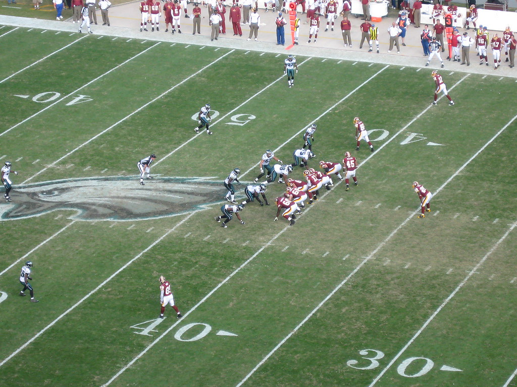 Eagles - Redskins at the Linc, 2008