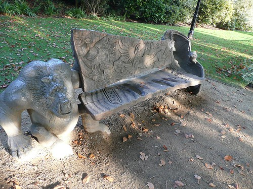 Rory's Bench in Fletcher Moss Park
