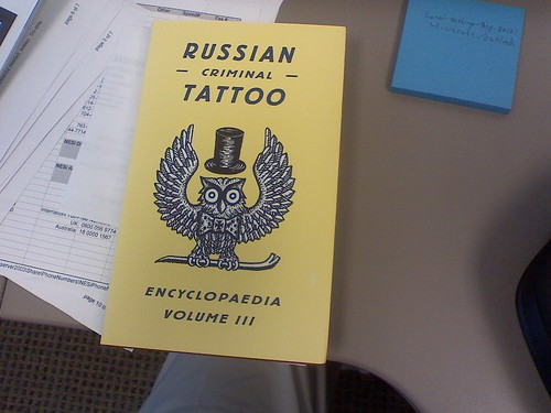 Russian Criminal Tattoo Encyclopaedia, Volume 3