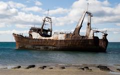 "Puerto Madryn - Muelle Aluar (""el chino"") Tags: patagonia argentina muelle barco pesca puertomadryn aluar"
