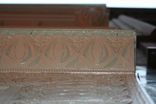 Detail of Louis Sullivan Storefront, 28 S. Wabash > Cornice