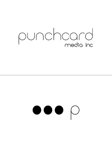 Punchcard Media Logos