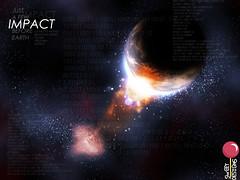 IMPACTO (Asar_mz) Tags: earth negro luna galaxy impact estrellas universe blackhole galaxia tierra oscuridad planeth impacto universo planetas highimpact hoyonegro altoimpacto