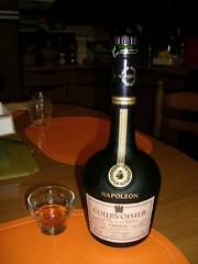 One Shot of Napoleon Courvoisier Cognac, 40% (one_shot_wonder) Tags: orange france kitchen french table amber champagne liquor drinks alcohol napoleon booze brandy cognac courvoisier jarnac 40plus 30plus champagnecognac