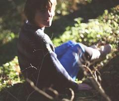 автопортрет 226й день (tomato_senya) Tags: autumn trees light selfportrait colour green me nature bodylanguage 365ru