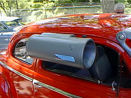 PORTABLE AIR CONDITIONER INSTALLATION NO WINDOW EXHAUST SAVE HOT