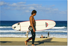 what I really want is in my dreams (Evan_Williams) Tags: ocean beach water sand nikon surfer manly sydney australia surfboard d80