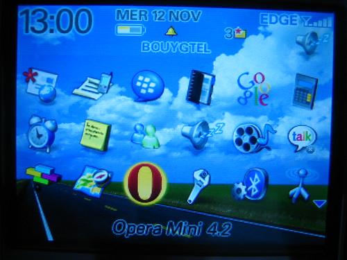 Télécharger et installer Opera Mini sur Blackberry Curve 8310 05