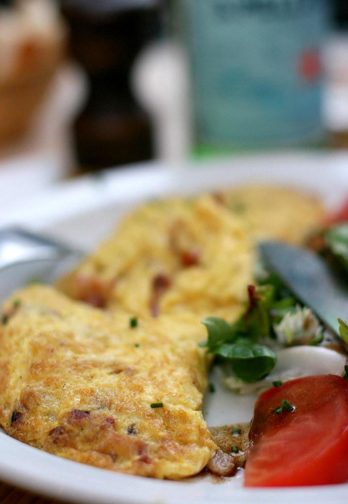 Omelette aux Lardons (Antibes)