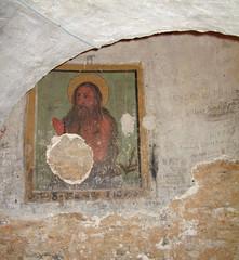 Trani - Cattedrale - Interno - Ipogeo di San Leucio - Affresco (farsergio) Tags: italy church italia chiesa puglia bari cattedrale trani farsergio ipogeo yourcountry