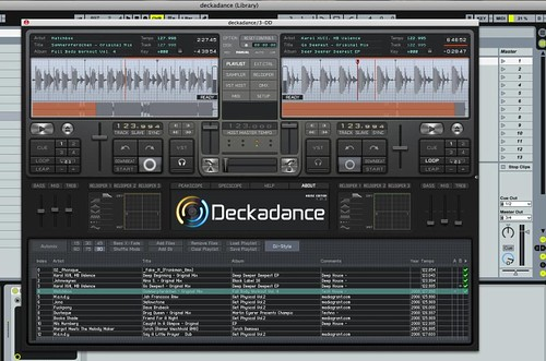 deckadance VST in ableton