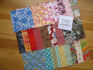 Spare Change Fabric Squares