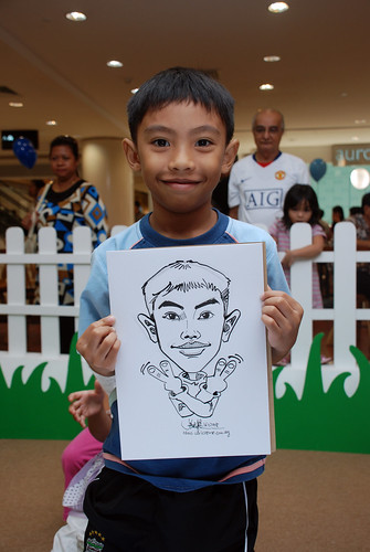 caricature live sketching for West Coast Plaza day 2 - 25
