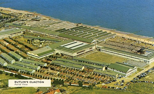 Butlins Clacton - Aerial View 1960s