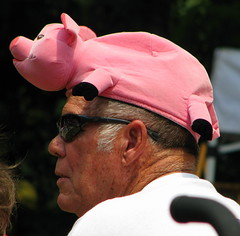 RC Cola and Moon Pie Festival: Pig Hat