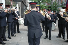 OLDP12.10.08 - Salvation Army Band on Oxford Street