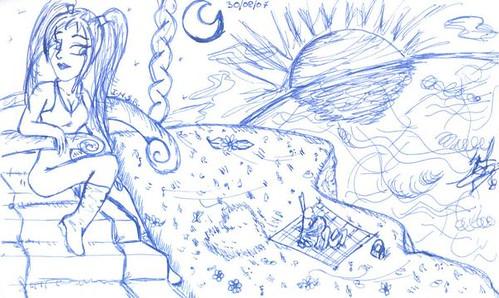 Dibujos por Montse Sabajanes 2007