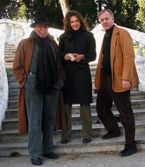Bernard Poulet, Sanja Pecenovic, and Vin Crosbie, Montenegro, 2008