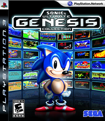 Sonic's Ultimate Genesis Collection Cover - PS3