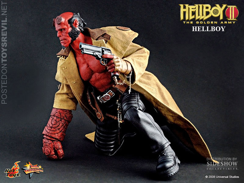 Movie Masterpiece 1 6 Hellboy Abe Sapien By Hot Toys