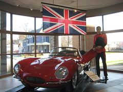 1956 Jaguar XKSS (skeggy) Tags: auto old usa classic cars car museum vintage photo automobile midwest image antique indiana voiture coche creativecommons vehicle oldtimer jag studebaker jaguar 1956 rare 56 sportscar southbend in xk xcar xkss attributionnoncommercialsharealike