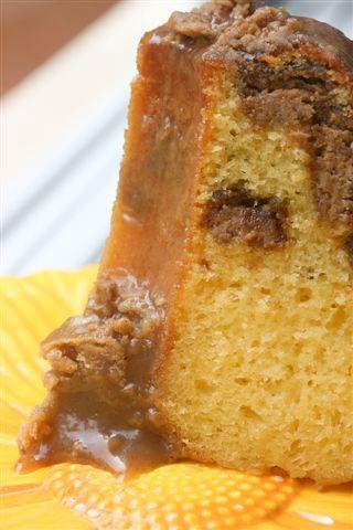 choc-nut cake