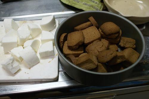 マシュマロとクッキー