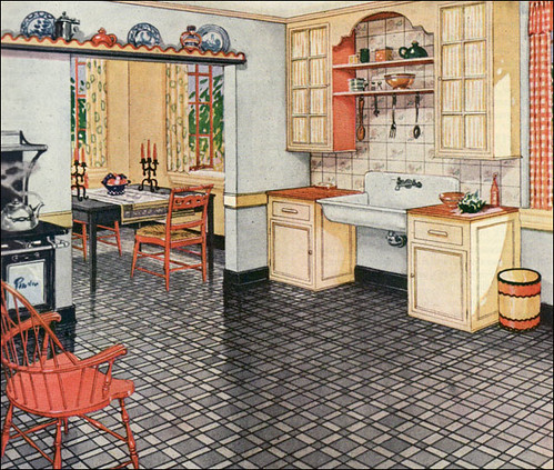 Design Around This 3 1920s Kitchens and All That Jazz – 1920s Kitchens
