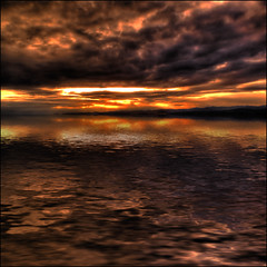 tyger, tyger (ecstaticist) Tags: light sunset canada reflection art water photoshop canon fun bravo poem bc flood extreme simulation victoria mount pear visual flaming impression enjoyment enhancement tolmie photomatix tonemapped g10 tonemaping aplusphoto