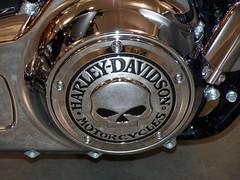 2009 Autofest (Adventurer Dustin Holmes) Tags: skull engine chrome engines motorcycle biker accessories autofest harleydavidon 11thannual customparts february2009 february09 2009autofest oreillyautofest oreillyautopartsautofest autofest09 custompart