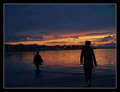 will we ever meet ... (maios) Tags: travel sunset sea sky woman cloud mountain man water port greek photo europa europe flickr mediterranean photographer hellas explore greece un macedonia thessaloniki fotografia meet salonica manikis maios makedonia iosif  heliography                iosifmanikis