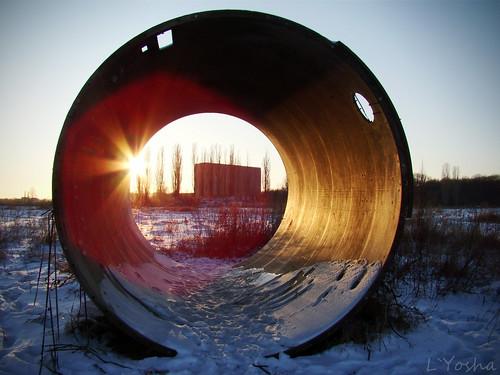 Nuclear sunset ©  L`Yoshka