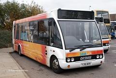 Peterborough City Council 594, YJ56WVN. (EYBusman) Tags: park city bus town coach centre solo link council local peterborough municipal minibus optare yj56wvn eybusman