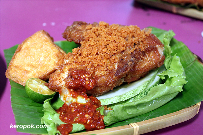 The Ayam Penyet Set