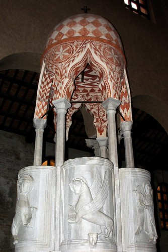 Byzantine Pulpit St Euphemia, Grado