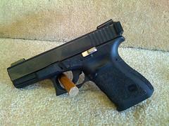 Glock05 (deucequad) Tags: port grip stipple 9mm glock glock19 tactical racker hatfieldsgunsmithing